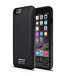 iPhone 6S 6 Battery Case, [Apple MFI certified] Nekteck 3100mAh iPhone 6S / iPhone 6 battery Case External Protective Charger Charging Case Backup Pack Cover Juice Bank For iPhone 6/ 6s (Black)