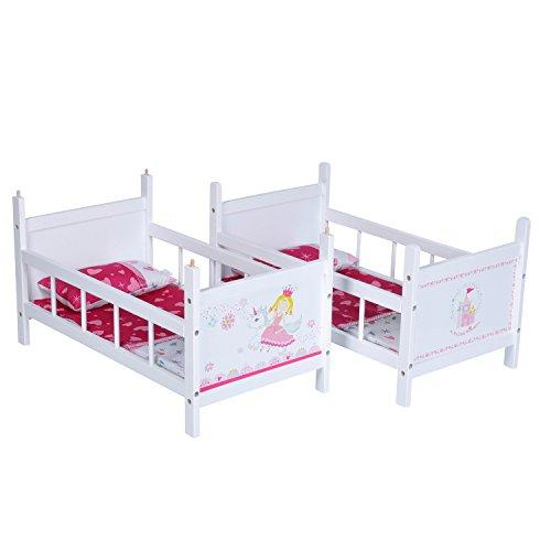 67807 letto a castello per bambole my. Black Bedroom Furniture Sets. Home Design Ideas
