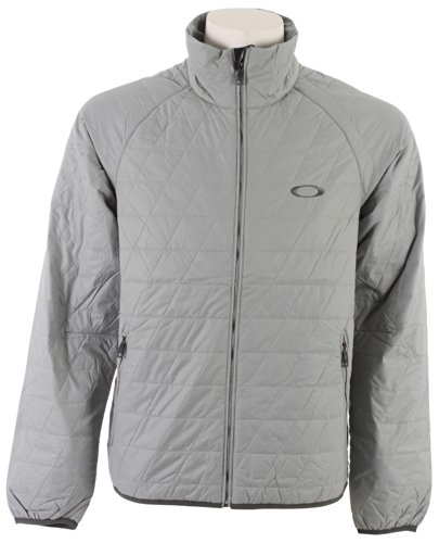 79H2C Oakley Men's Great Ascent Sport Jacket, Stone Grey, Small
