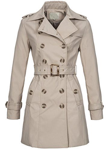 Peak Time -  Cappotto  - trench - Donna beige Small