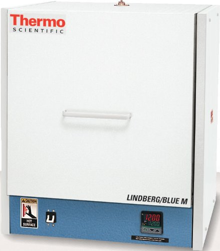 Thermo Scientific Bf51842Pbfmc Lindberg/Blue M Lgo Box Furnace With Integrated Multi-Program/Multi-Segment Programmable Digital Controller With Inert Gas Flowmeter And Over-Temperature Protection, Temperature Range: 100 Degree To 1,200 Degree C, Capacity front-567584