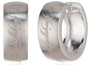 Herr der Ringe Schmuck by Schumann Design Creolen 925 Sterling Silber 3004-001