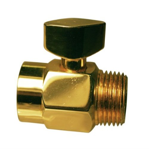 D309-01 1/2 In. Ips Shower Volume Control In Polished Brass - Volume Control-Yow