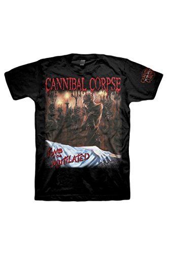Cannibal Corpse -  T-shirt - Uomo nero M
