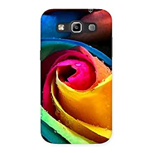 Colorful Rose Droplets Back Case Cover for Galaxy Grand Quattro