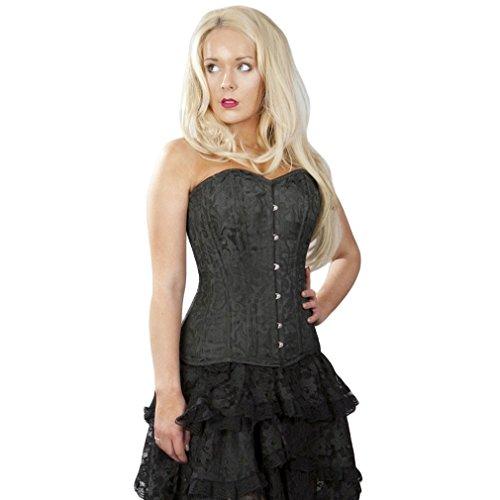 Burleska - Bustino -  donna nero 54