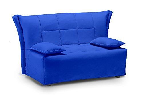 divano blu elettrico: divano due posti una seduta alzapersona ... - Divano Letto Matrimoniale Elettrico