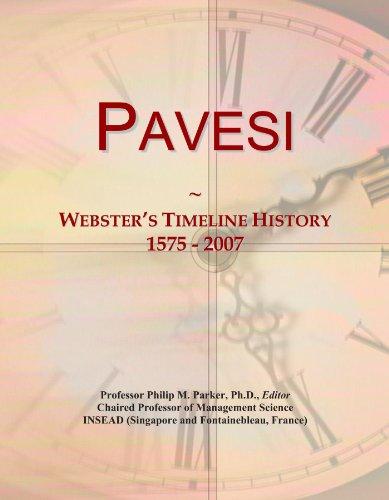 pavesi-websters-timeline-history-1575-2007