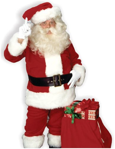 Rubies Costumes Mens Imperial Santa Suit Adult Costume