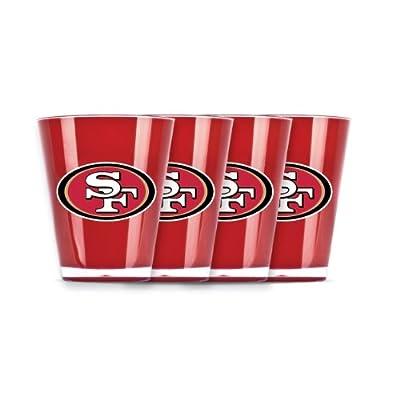 NFL San Francisco 49Ers Shot Glass Set (4-Piece)