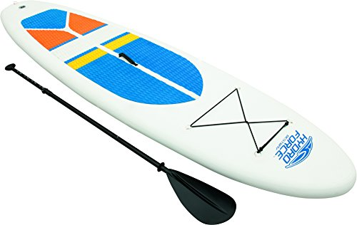 Hydro-Force Stand-Up Paddle Board – White, 10 ft