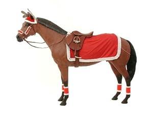 Tough-1 Set Of 4 Holiday Leg Wraps