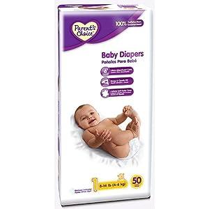 Amazon Com Parents Choice Diapers Count 50 Size 1
