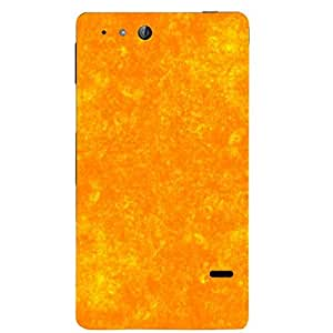 Skin4gadgets Royal English Pastel Colors in Grunge Effect, Color - Sunset Orange Phone Skin for XPERIA GO (St27I)