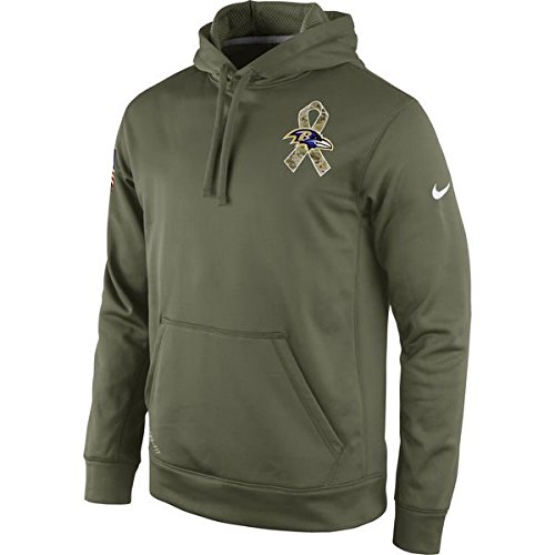 Baltimore Ravens 2014 Nike NFL Salute to Service Hoodie Mens Small (S) (2014 Salute Service compare prices)