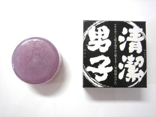 化粧石鹸 清潔男子 100g