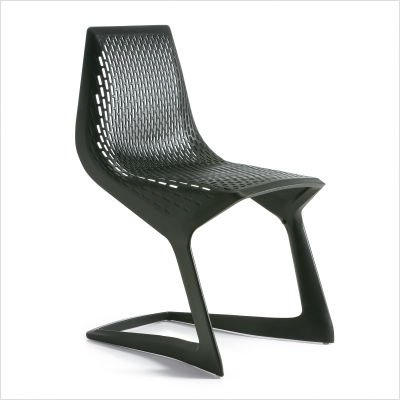 MYTO Cantilever Chair Finish: Aubergine