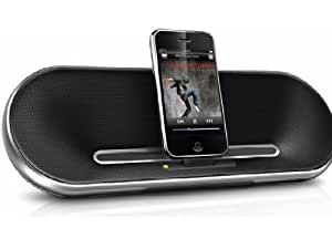 Philips Fidelio Premium DS7550 30-Pin iPod/iPhone Charging Alarm Portable Speaker Dock (Discontinued by Manufacturer)