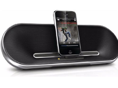 Philips Fidelio Premium Ds7550 30-Pin Ipod/Iphone Charging Alarm Portable Speaker Dock