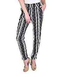 ABSTRACT STRAIGHT TROUSERS