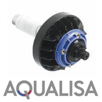 Aqualisa Quartz Rise Shower Controller Wall Back Plate Plastic Black Mounting