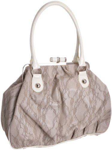 Suzy Smith Womens ZB002876PU Handbag Grey