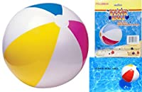 "1 BEACH BALL 20"" Inflatable Beach , Pool Party Adult Kids Games Summer Fun by Good Old Values"