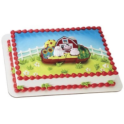 Barnyard Puzzle Cake Topper - 1