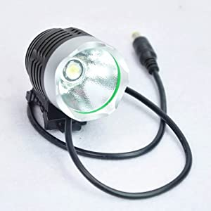 New Ssc-p7 900 Lm Lumen 3 Mode Led Bicycle Bike Light Headlight Headlamp With Battery Set