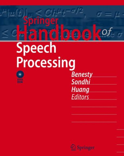 Springer Handbook of Speech Processing