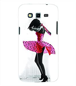 ColourCraft Dancing Girl Back Case Cover for SAMSUNG GALAXY GRAND 2 G7102 / G7106