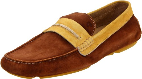 Donald J Pliner Men's Vergil Loafer,Tan/Sun,7.5 M US