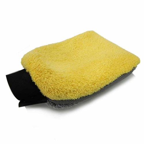 Chemical Guys Mic_402 - Waterproof 4 In 1 Microfiber Premium Wash Mitt front-581979