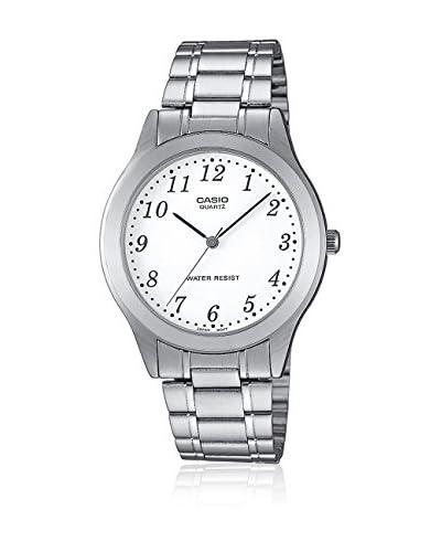 Casio Reloj de cuarzo Classic Plateado 43 mm