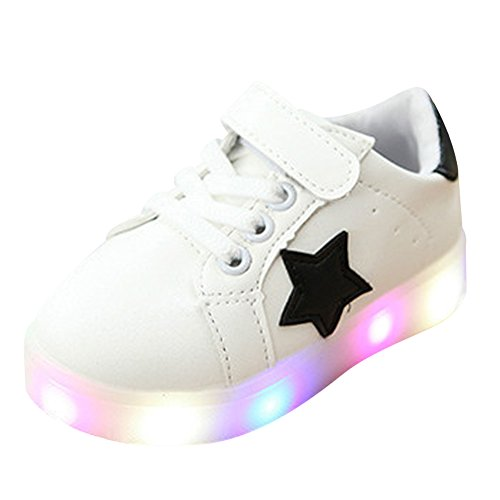 SAGUARO-Nios-Nias-LED-Zapatos-Deporte-Zapatillas-con-Luces-Light-Up-Zapatos