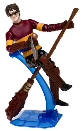 Picture of Mattel Harry Potter Extreme Quidditch Deluxe Action Figure (B0001OM1PW) (Harry Potter Action Figures)