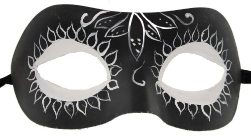 RedSkyTrader Men's Masquerade Day Of the Dead Mask