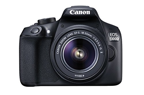 Canon EOS 1300D EF-S 18-55mm 18.7MP CMOS 5184 x 3456 Pixels (Black)...