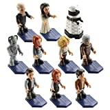 Doctor Who Character Building Wave 2 Mini Figures Set of 10