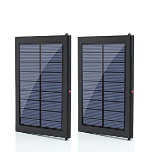 2 ADD-ON Solar Charging Panel Extensions for ReVIVE Series Solar ReStore XL External Backup Battery Pack (Not compatible with 1500mAh Model) - Triples your ReStore's solar charging speed!