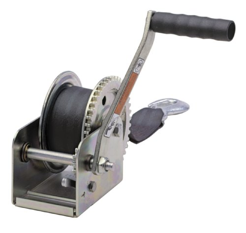 Dutton-Lainson DL1100AS 1100 lb Plated Pulling Winch with 15- Feet Strap