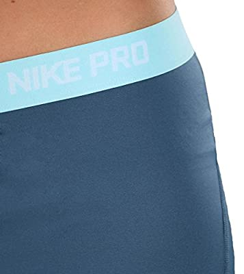 "Nike Women's Dri-Fit Pro 3"" Compression Training Shorts-Green"