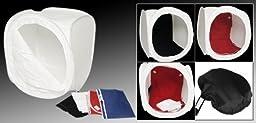 Fancierstudio 16 inch Photography Studios Light Tent With Four Backdrops By Fanciestudio LT16