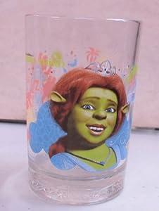 Vintage Drinking Glass Shrek Fiona