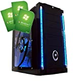 Freshtech Intel Core I5 4460 1tb 8gb 1600Mhz GTX 770 2gb Galaxy Windows 7 Gaming PC Gigabyte H81M-H Motherboard 8gb DDR3 1600mhz Performance Ram Nvidia Geforce GTX 770 2gb GDDR5 with HDMI Corsair CX600 80 Plus Bronze 600w Power Supply 1tb Seagate Barracu