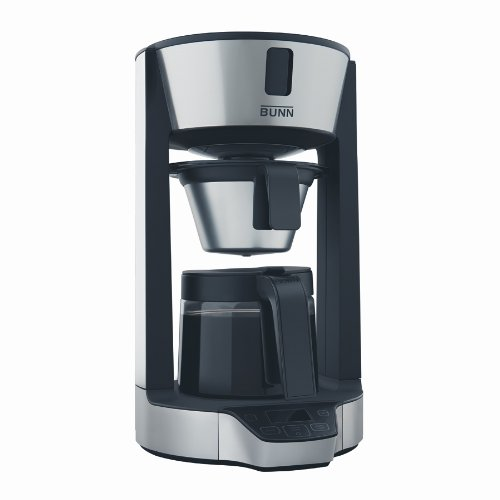 BUNN HGD Phase Brew High Altitude 8-Cup Home Coffee Brewer