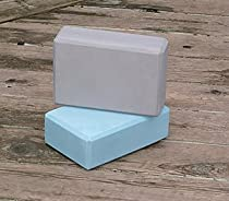 "Natural Journeys 3"" Yoga Block Gray"