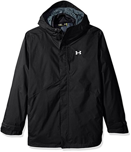 Under Armour Giacca 3in1ColdGear Reactor Wayside, nero, L