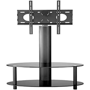 The Best  55 inch Cantilever Curved Glass TV Stand