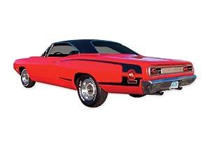 1970 Dodge Super Bee C Stripes & Decals Kit - RED